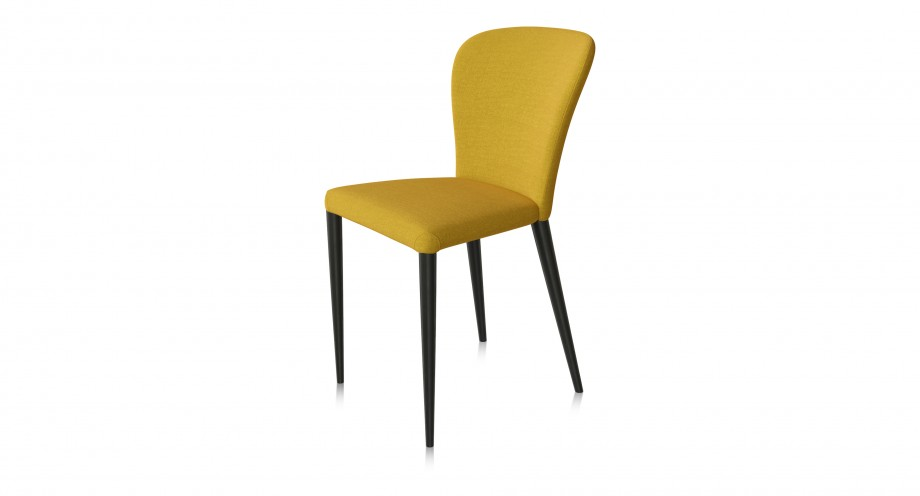 Pavia F dining chair yellow