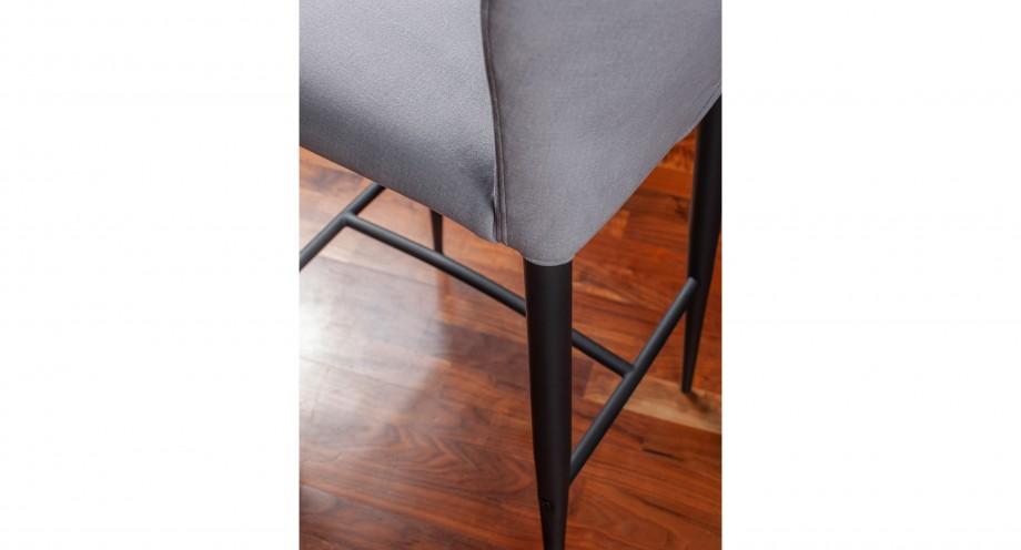 Pavia F grey stool detail miotto