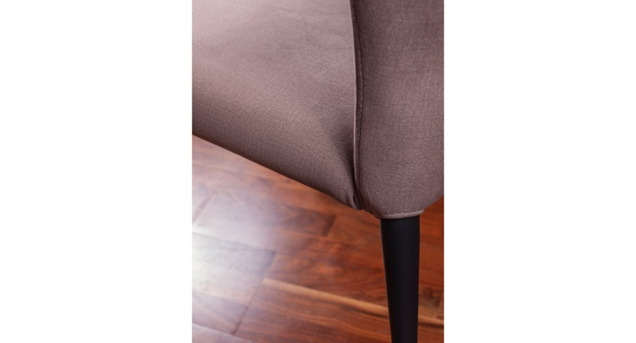 Pavia F taupe dining chair detail 2 miotto